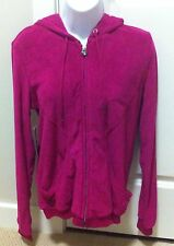 TNA ARITZIA Terry Hoodie Zippered Jacket Raspberry NWT Small S