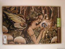 "Jessica Galbreth Puzzle Green Fairy 11x17"" Mother Earth Faery Fantasy Art"