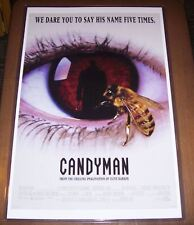 Candyman Clive Barker 11X17 Original Movie Poster Tony Todd
