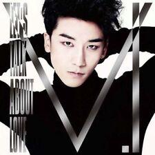 V.I FROM BIGBANG-LETS TALK ABOUT LOVE-JAPAN CD DVD I98