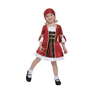 Precious Lil' Captain Infant-Toddler Pirate Halloween Costume 2-4 Years #7030