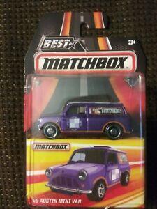 Best of Matchbox 1965 Austin Mini Van purple DKC62 2016