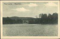 Rawdon Quebec The Lake c1920 Postcard