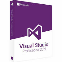 Visual Studio Professional 2019 Lifetime License Unlimited PC's!