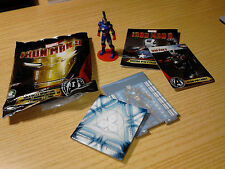 GASHAPON PERSONAGGIO 3D IRON PATRIOT IRON MAN 3 PREZIOSI COLLECTION