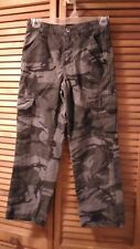 Camouflage boys pants size 25x24 hunting