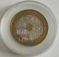 France 20 Francs 1994 100 Years Olympic Congress