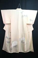 10v6205 Silk Japanese kimono Robe Dress Houmongi Flower