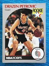 DRAZEN PETROVIC (#248) ROOKIE Trading Card (89-90 NBA HOOPS). Very RARE & MINT!