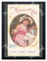 Historic Mazawattee Tea, 1890s. Advertising Postcard 1