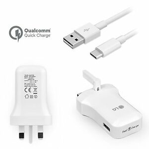 Genuine Fast Charge Wall Charger USB-C Type for LG G5 Huawei Nexus 6P P9