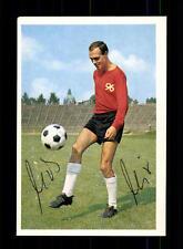 Udo Nix Hannover 96 1965-66 Bergmann Sammelbild Original Signiert
