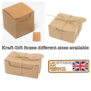 Gift Boxes Strong Eco Kraft Gift Packaging Storage Party Box Wholesale MultiPack