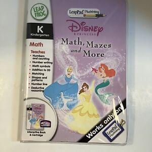 LeapFrog LeapPad Plus Writing Disney Princess Math, Mazes & More  New SHIPS FREE