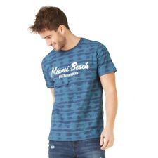 T-shirt Homme Miami Bleu