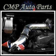 BLACK RED AIR INTAKE KIT FIT 2007-2012 GMC CANYON CHEVY COLORADO HUMMER H3 3.7L