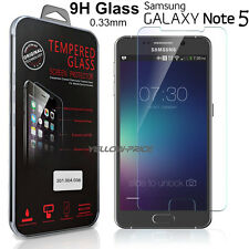 Premium 9H 0.33mm Tempered Glass Screen Protector For Samsung Galaxy Note 5 N920