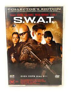S.W.A.T. (DVD, 2003) Samuel L. Jackson Region 4 Free Postage