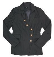 Beulah Style Three Button Chest Pocket Notch Lapel Women's Blazer Jacket NWT
