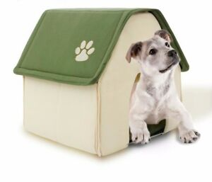 Dog Bed Soft Dogs Kennel House For Pets Cats Puppy Home Shape Winter Soft Beds