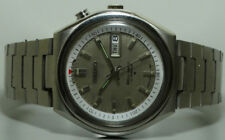 Vintage Seiko Bellmatic Alarm Automatic Day Date Used Wrist Watch S806 Antique