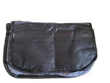 Large Handbag Inner/Organiser. Multiple Pockets. Black/grey New