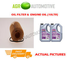 HYBRID OIL FILTER + FS 5W30 ENGINE OIL FOR LEXUS GS 450H 3.5 292 BHP 2012-