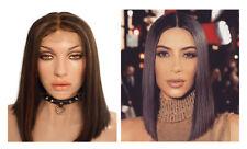 100% Human hair full lace wig blunt bob Nicki Minaj lace wig yonce lace wig sza