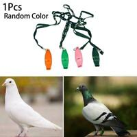 Portable Pet Bird Carrier Pigeon Training Whistle ABS Black Shatterproof H2M1