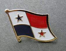 PANAMA INTERNATIONAL COUNTRY WORLD FLAG LAPEL PIN 1 INCH