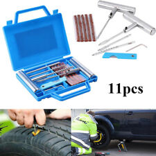 11pcs Heavy Duty Tire Repair Kit Set for Car Motorcycle Atvs Jeep Truck Tractors