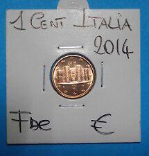 1-2-5 CENT  ITALIA 2014 ITALIA FDC- UNC  RARA  SIGILLATA OBLO  COMPRA SUBITO