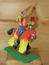 CLASSIC METAL EMPIRE MOUNTED BATTLE WIZARD FIRE PAINTED (887)