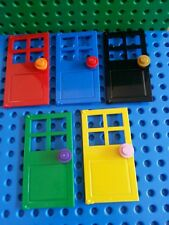 LEGO Minifig DOORS (Type 2) x5 Frames House Modular Friends Home Creator NEW