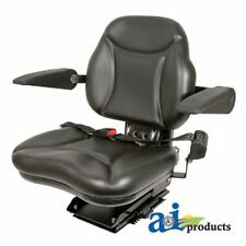 Universal Big Boy Seat With Armrests Blk 330 Lb 150 Kg Weight Limit