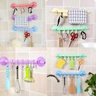 adjustable hooks Supper Power Vaccum Sucker Stand Hook Kitchen Bathroom HangerOZ