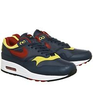 Nike Air Max 1 Premium Navy Gym Red Shoe Mens UK8/EU42.5/US9
