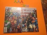 Comic Justice League of America Special #1 Wraparound & Variant Cover DC Comc NM