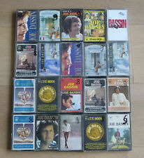 Lot de 20 Cassettes Tape K7 - JOE DASSIN
