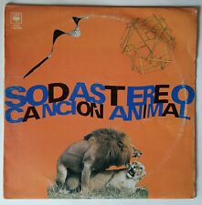 "Soda Stereo - Cancion Animal LP 12"" Argentina VG+/VG+ CBS 1990 1ST Edition!"