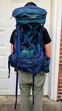 Arcteryx Bora 80 Backpack Hiking Blue M/M Rain Cover Included