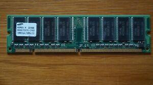 Samsung DDR1 SDRAM 128MB 133MHz  240 Pin (M366S1723DTS-C7AQ0 CL3)
