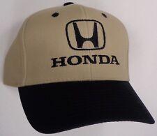 Hat Cap Licensed Honda H Logo Tan HD1001 HR