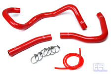 HPS Silicone Radiator Coolant Hose Kit For 08-17 Lancer 2.0L 2.4L Non Turbo Red