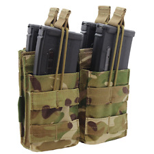 DISCIPLE DMTP MULTICAM MTP DOUBLE STACKER BUNGEE OPEN TOP AMMO POUCH