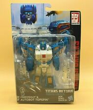Transformers Titans Return Deluxe TOPSPIN & FREEZEOUT Generations Hasbro NEW