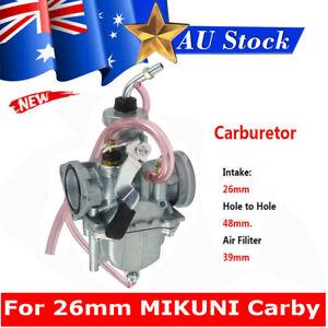 26mm Carburetor VM22 Carby For Honda XR100 CRF100 Motorcycle Pit Bike MIKUNI