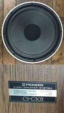 """Pioneer CS-G303 Woofer 184049 Tested Working 12"""" Speaker Good Surround See Video"""