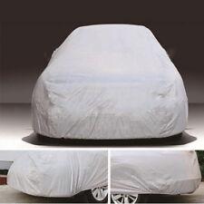 Waterproof Full Car Cover Protector Anti-UV Sun Rain Snow Dust Sedan Hatchback L