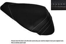 WHITE STITCH LEATHER CUSTOM FITS APRILIA RSV4 R 1000 09-15 REAR SEAT COVER